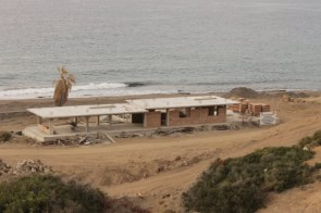 The restaurant brickwork has started. Esentepe Beach Project Update. 29 June 2015 -
