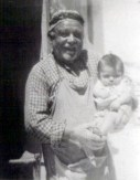 Great grandfather Ismail Ali 'Gicco' with my sister Sermin