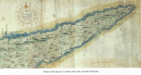 Karpaz map by Leonida Attar