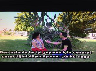 Marina Kyprigenea talking about Hetha Yoga