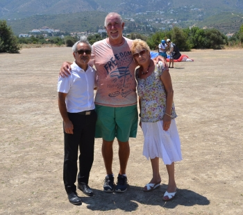 Adem Bayman, John Graham and Mary Watson of LSOK