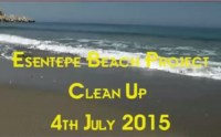 Esentepe Beach cleaning