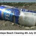 Esentepe Beach cleaning image