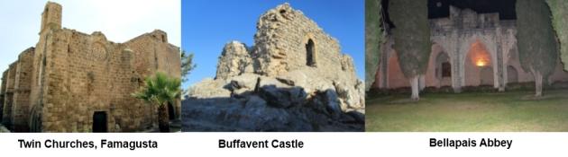 Famagusta Buffavento and Bellapais