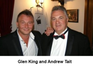 Glen King and Andrew Tait