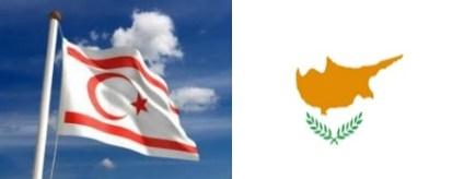 TRNC-Cyprus flags
