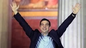 Tsipras celebrates