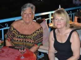 l-r Pauline Collins and Angela Hasman (NCCCT)
