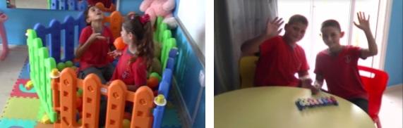 Children playimg