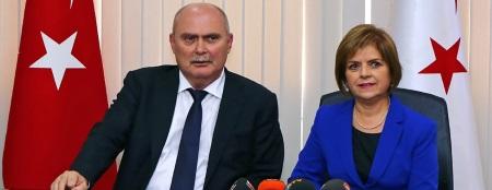 Feridun Sinirlioğlu and Emine Çolak