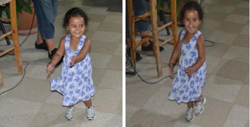Lilly-Mai dances