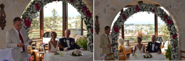 Speeches for the bride and groom