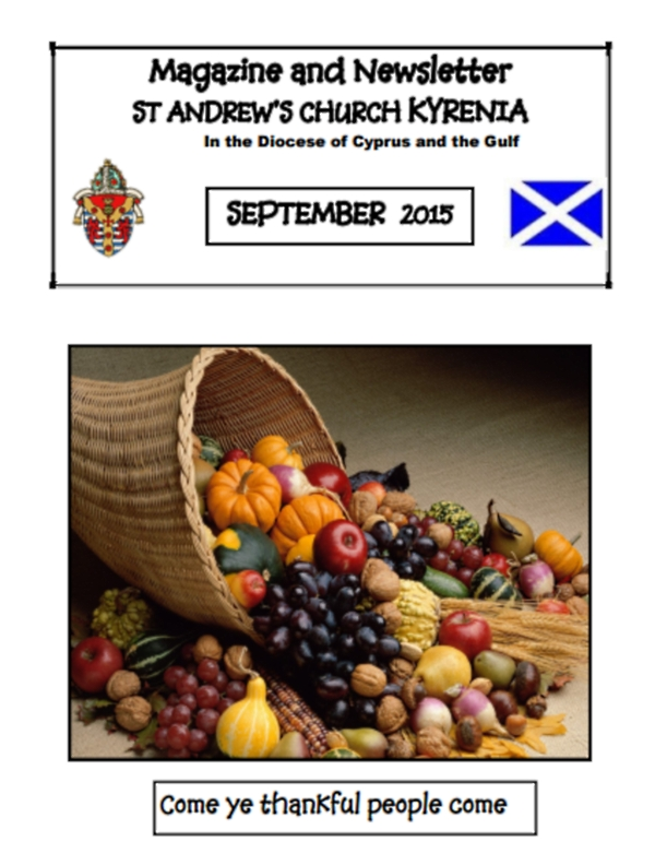 St Andrews September Magazine cover