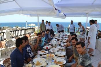 End of Eid celebration
