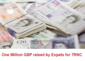 1 million pound raised by expats