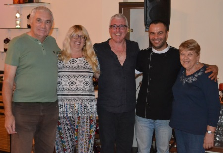Chris,Teresa. Jamie, Emrullah, Margaret