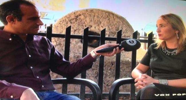 Engin Dervisaga talks to Olesya Larina