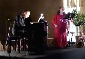 Katie Economidou accompanied by Fikri Toros