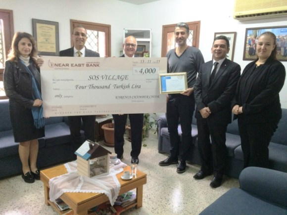 Kyrenia Chamber Choir donate to SOS Village