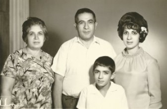 Yusuf, Nahide, Gunay and Ertan about 1964