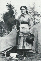 Martha Maxwell the Colorado Huntress was a crack shot had no fear of the wild