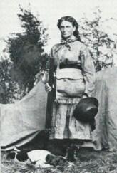Martha Maxwell the Colorado Huntress was a crack shot had no fear of the wild