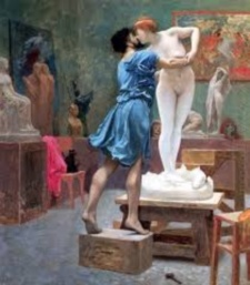pygmalion and galatea by jean leon gerome