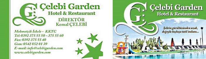 Celebi Garden Hotel logo