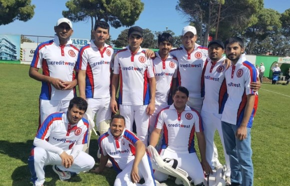 Gentlemen of Girne Cricket club sponsored by Creditwest