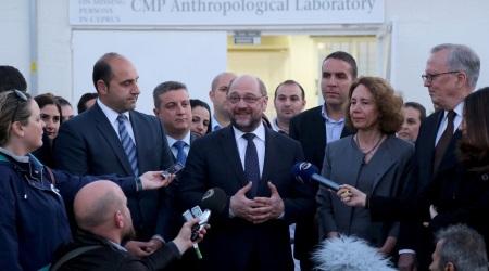 Martin Schulz visited CMP Laboratory