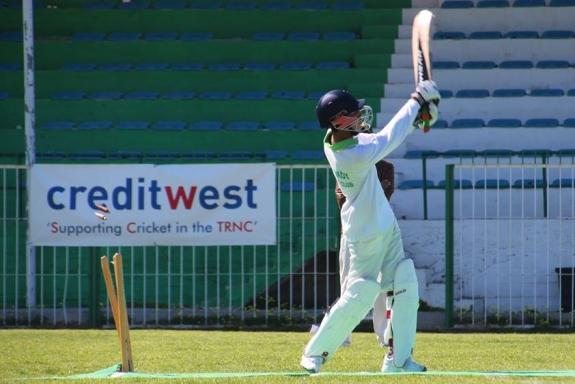 Sajjad Kamal 'hat-trick' wicket 1
