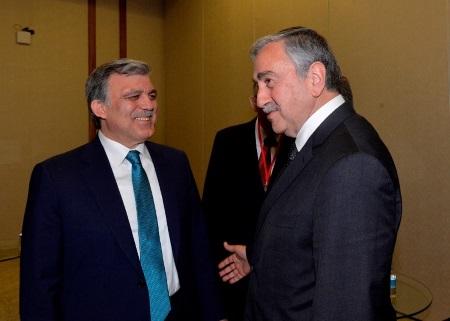 Abdullah Gul and Mustafa Akinci