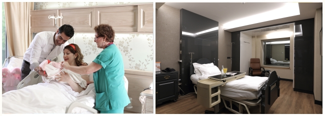 Guven patient bedrooms