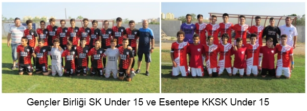 Gençler Birliği Sk Under 15 ve Esentepe Kksk Under 15 picture 1