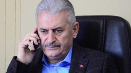 Joe Biden call to Yildirim