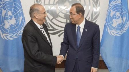 Kasulidis and Ban ki Moon