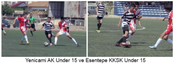 Yenicami AK Under 15 Esentepe KKSK Under 15 pic 3