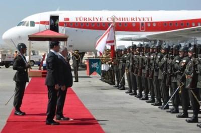 Yildirim reception at Ercan