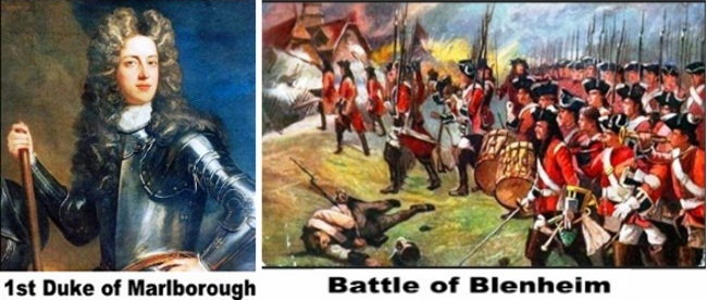 1st Duke of Marlborough and Marlborough's Forces during the final attack on Blenheim Village; August 1704
