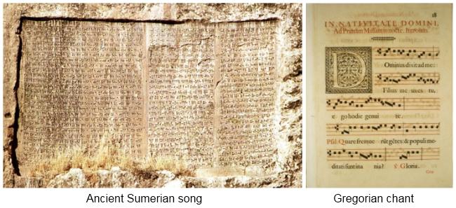 sumerian-and-gregorian-music