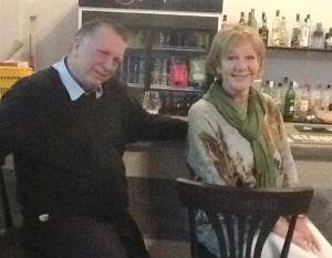 Stevie and Linda Stockwell of Stevie's Restaurant