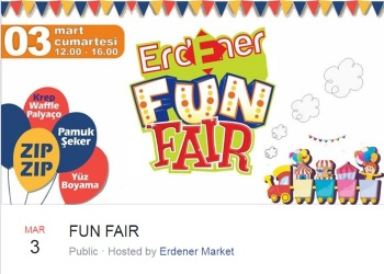 All The Fun Of The Fair At Erdener Supermarket Ozanköy