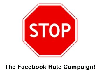 Stop faecbook hatred