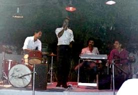 Ahmet, Iftikhar, Sohail and Waqar - The Graduates