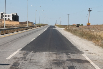 Lefkoşa-Güzelyurt dual carriageway (2)