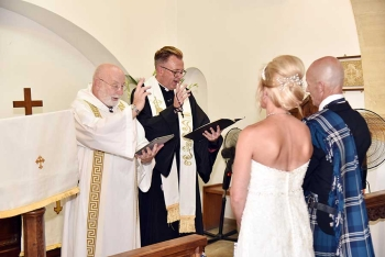 The blessing of the couple