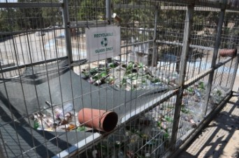 glass bottle recycling plant