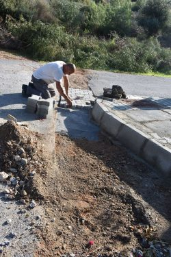 Alsancak Municipality rtoad works (12)