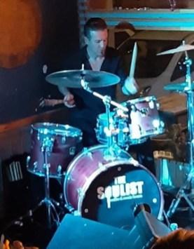 Alper on drums 2