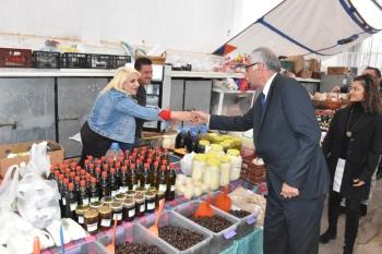 Güngördü celebrated New Year at the Girne Wednesday Market (1)